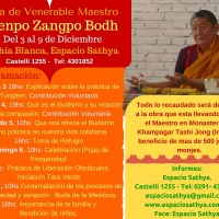 Visita de Venerable Khenpo Zangpo Bodh