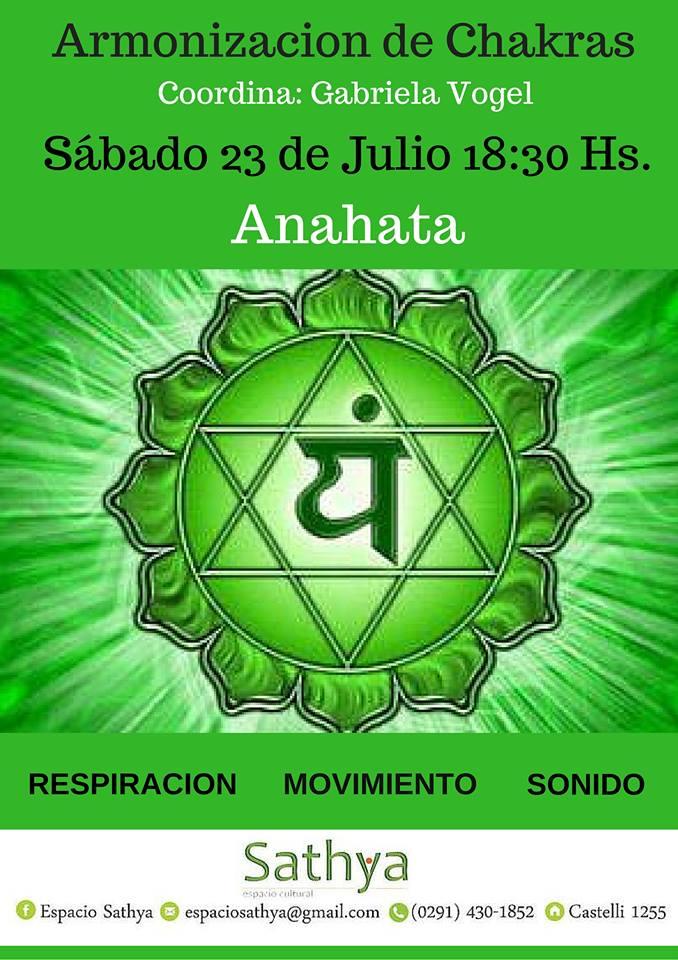 23 de Julio. Armonización de Chakras, Cuarto Chakra: Anahata ...