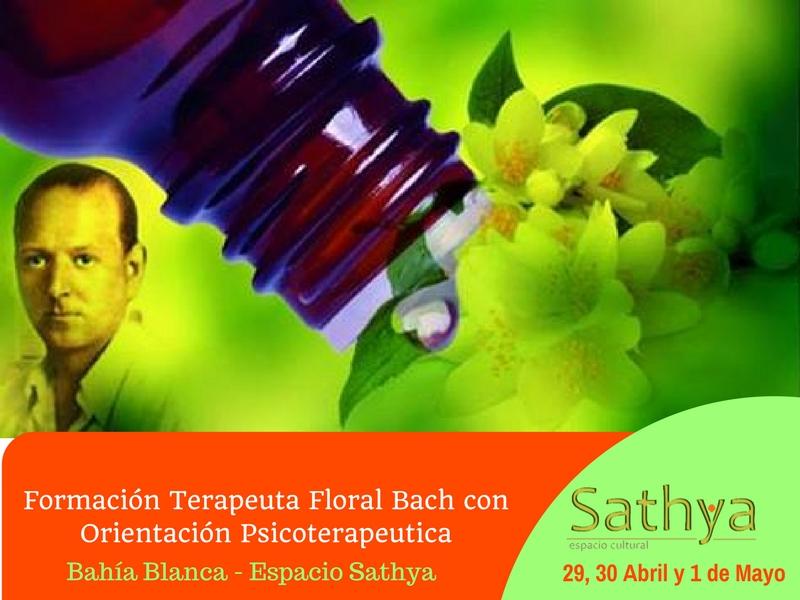 AbrilMayo2017 Formación Terapeuta Floral Bach con Orientación Psicoterapeutica