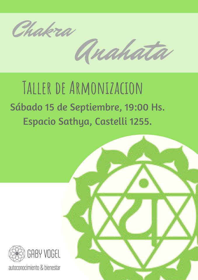 15 de Septiembre - Armonización Cuarto Chakra Corazón ó Anahata ...