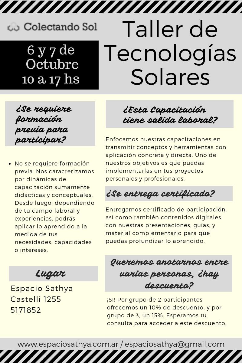 Copia de Taller de Tecnologías Solares (1)