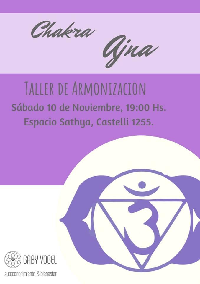 10 de Noviembre - Armonización del Cuarto Chakra - Espacio Sathya
